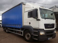 2014 (14) MAN TGS 26.320 CURTAINSIDER