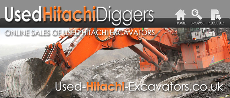 Used Hitachi Excavators
