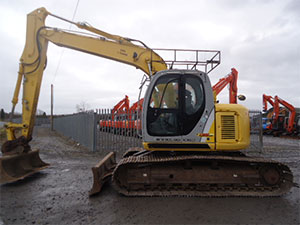 Truck And Plant Online: Excavators just added-New Holland Kobelco 135 SR