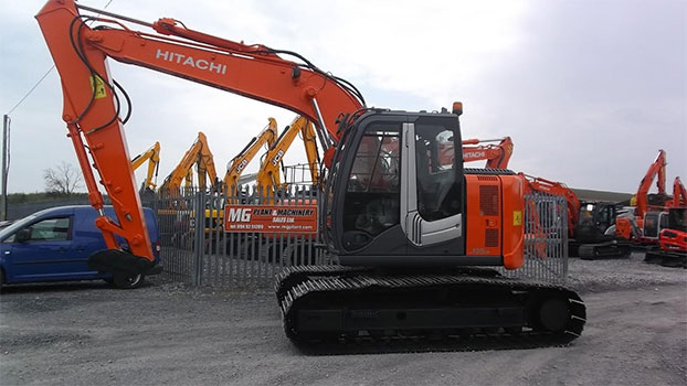 2008 Hitachi ZX135us-3