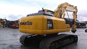 Komatsu PC210lc-8