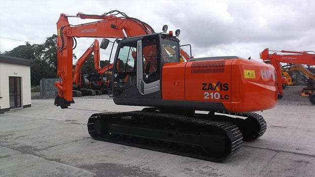 2012 Hitachi ZX210lc-3