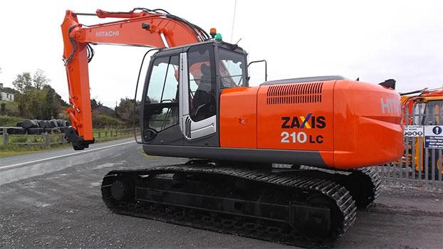 2010 Hitachi ZX210-3LC