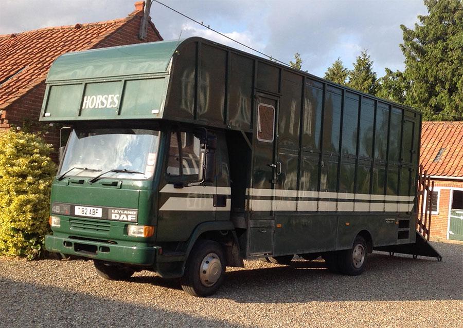 Leyland Daf 45, 150 TI, Horse Box