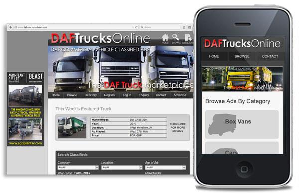 DAF Trucks Online