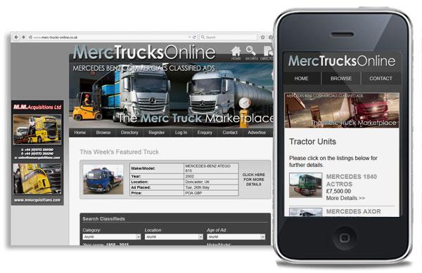 Merc Trucks Online