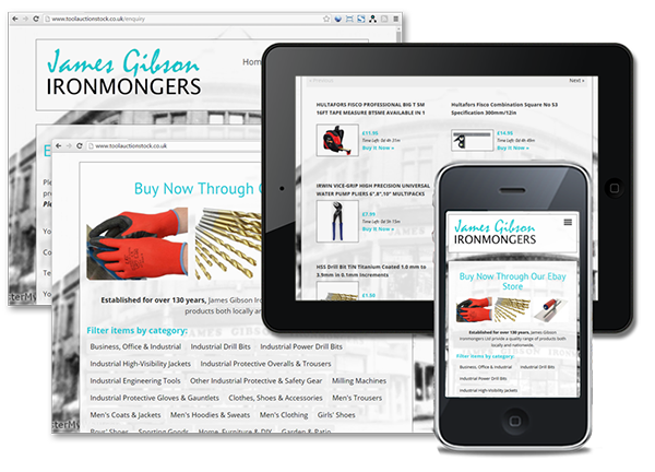 James Gibson Ironmongers Ebay Store