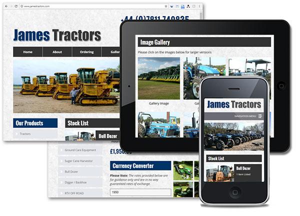 James Tractors