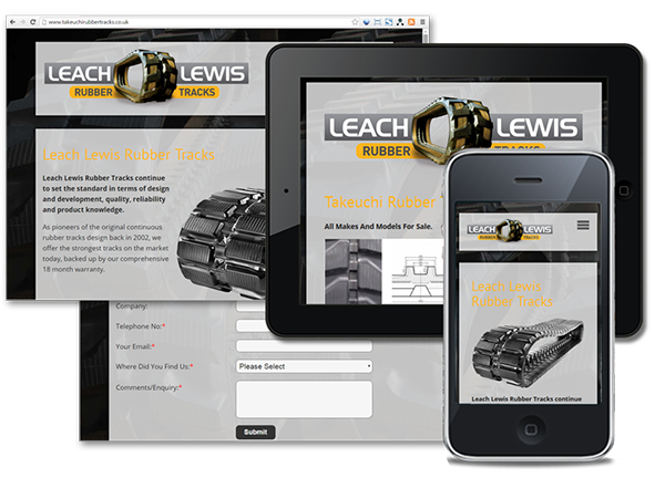 Leach Lewis Rubber Tracks Ltd Ebay Store