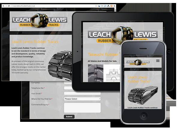 Leach Lewis Rubber Tracks Ltd Ebay Store