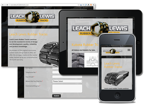 Leach Lewis Rubber Tracks