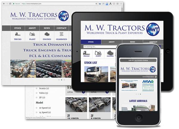M. W. Tractors