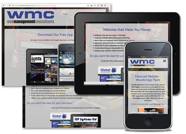 Truck Dealer Websites