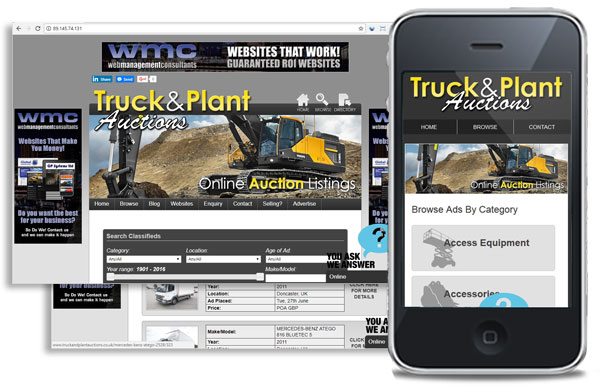 Truck and Plant Auctions
