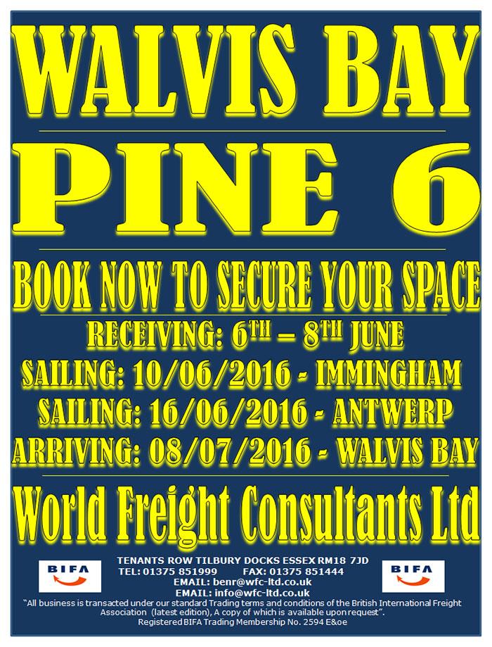 Walvis Bay - Pine 6
