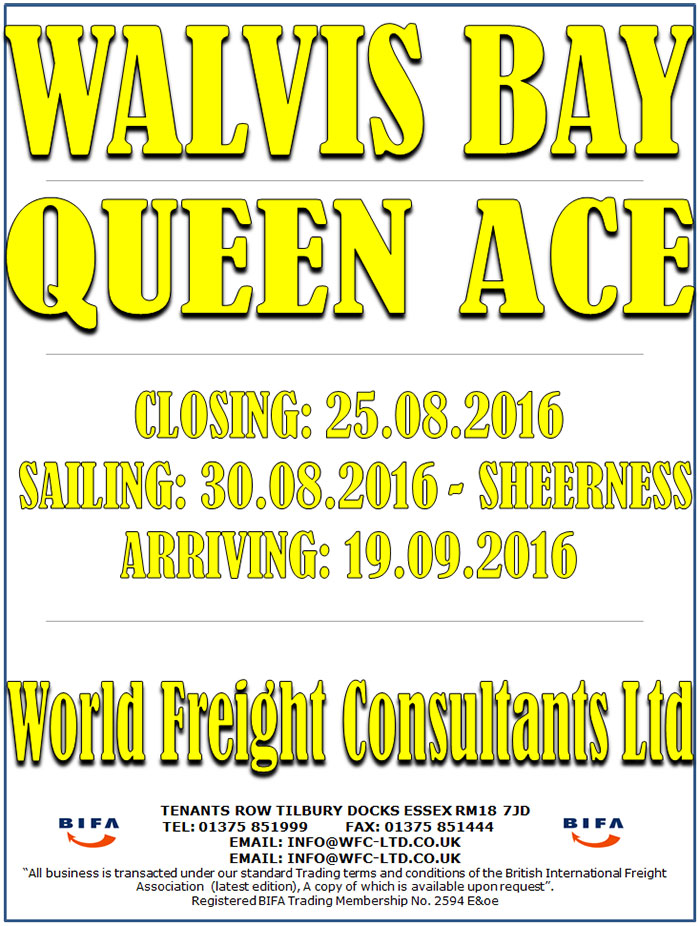Queen Ace - Walvis Bay