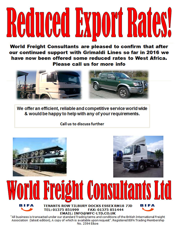 Reduced Export Rates