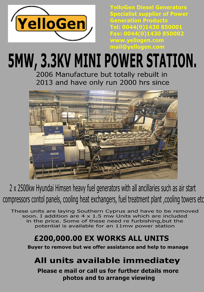5MW, 3.3KV Mini Power Station